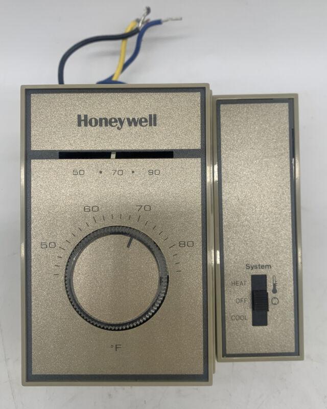 Honeywell T6169B4017 Fan Coil Thermostat Single Valve 120V 240V 277V Heat Cool