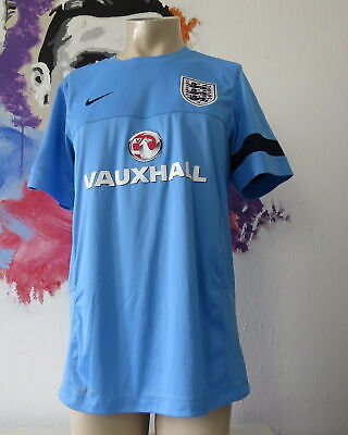 England blue training squad shirt Nike soccer jersey size L