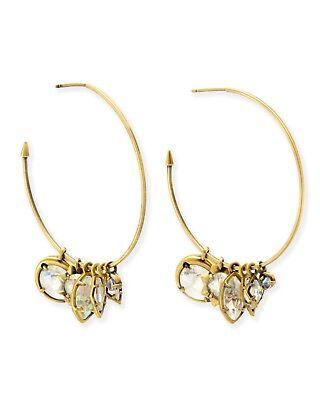 NWT Kendra Scott Alyssa Earrings in Antique Brass