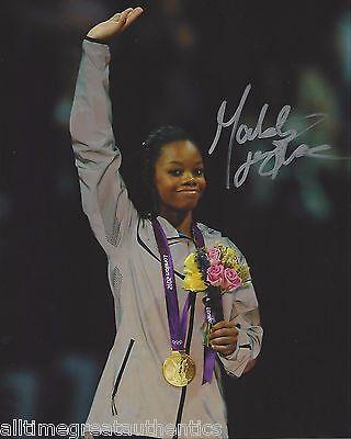 Gabby Douglas Signed 8X10 Photo W Coa 2012 London Olympics Gold Fierce 5 2016
