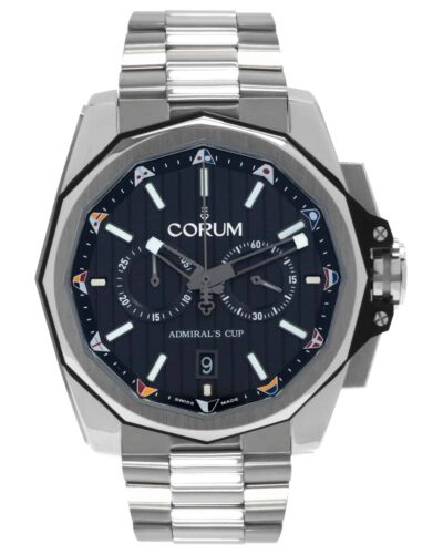 CORUM ADMIRAL'S CUP AC-ONE 45 CHRONOGRAPH TITANIUM AUTOMATIC MEN'S WATCH $9,800 - watch picture 1