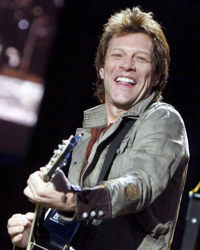 Jon Bon Jovi, 8x10 Color Photo