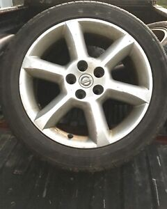 Nissan tires and rims P245/45 R18