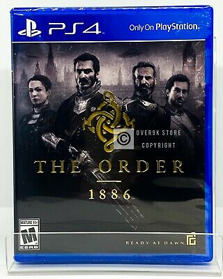The Order 1886 - PS4 - Brand New | Factory Sealed
