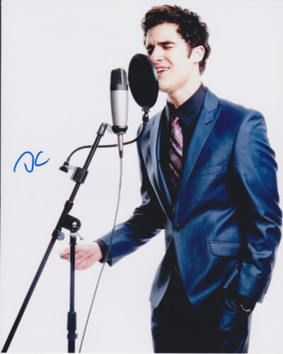 Darren Criss Signed Autographed 8x10 Photo Sexy Handsome Glee Hedwig COA VD