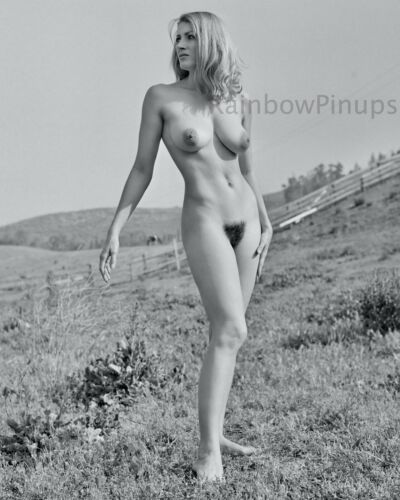 B736 8x10 BUXOM 1960s Blonde, NICOLE PAGE #2 * AMPLE CHARMS! (ART NUDES)