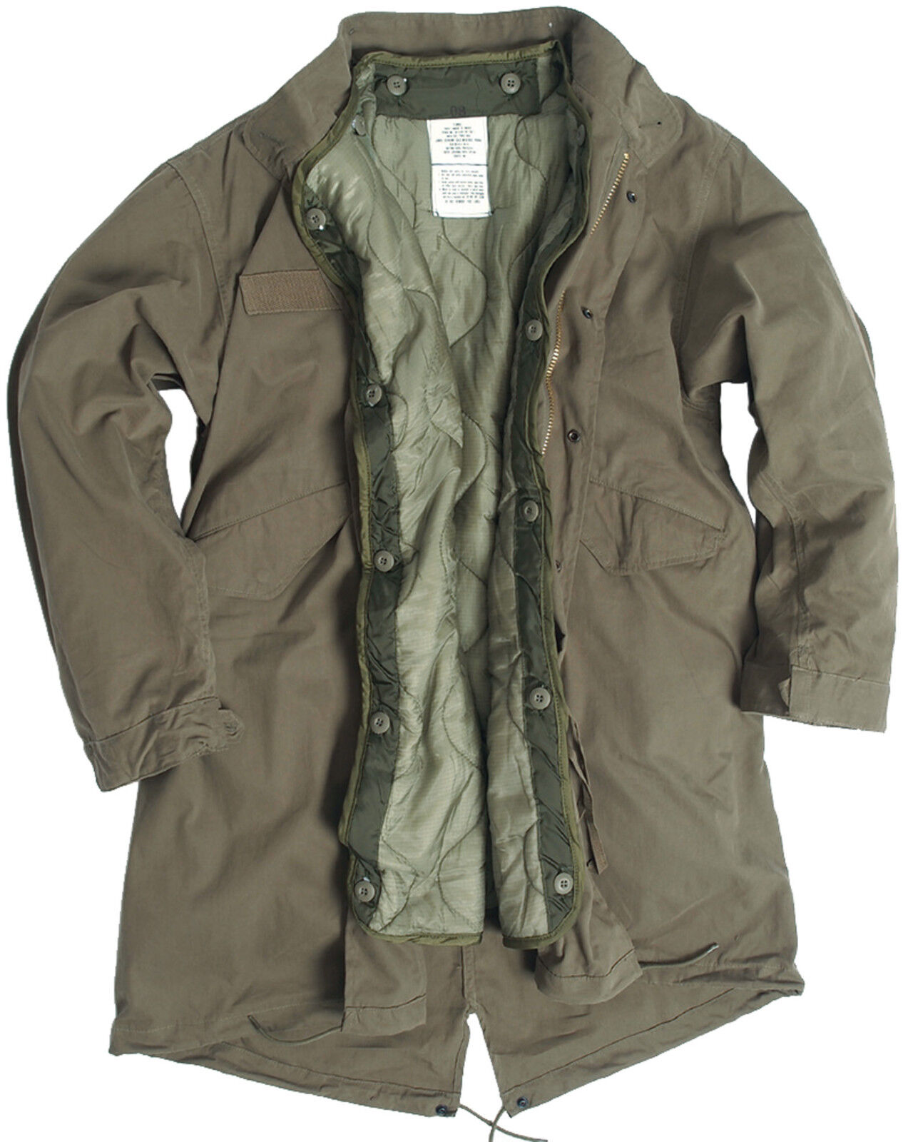 Details about US Army Olive Drab M65 Fishtail Winter Shell Parka Jacket  With Liner 79f0cb09ca3