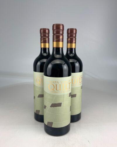 3 Bottles -- 2017 Quilt Cabernet Sauvignon, Napa Valley — Ws 92