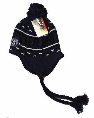 Manchester United Beanie - Manchester United Beanie Gorro o Gorra Pom Pom Peruvian Beanie Knit Hat Cap