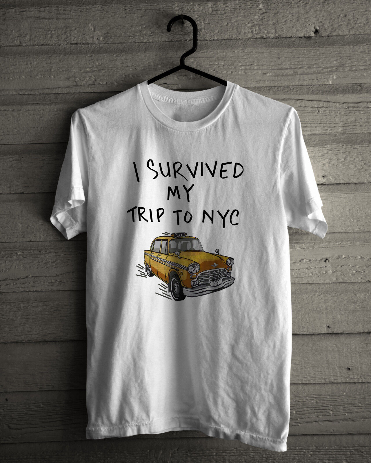 I Survived My Trip To Nyc T-Shirt. Inspired from movie Spiderman Homecoming 79aee27f611