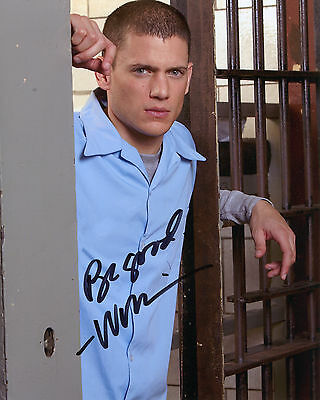 Wentworth Miller - Michael Scofield - Prison Break - Signed Autograph REPRINT