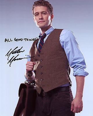 Matthew Morrison - Will Schuester - Glee - Signed Autograph REPRINT