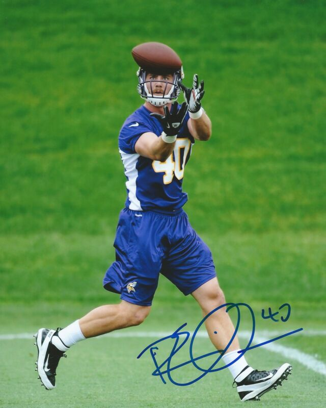 **GFA Minnesota Vikings *RHETT ELLISON* Signed 8x10 Photo R1 COA**