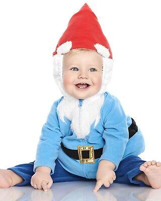 NEW NWT Boys or Girls Carter's Halloween Costume Gnome 3/6 or 6/9 Months (3 Month Halloween Costume)