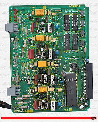 Toshiba Pcou2 V.1a 4 Port Co Line Card Pcou2a V.1a