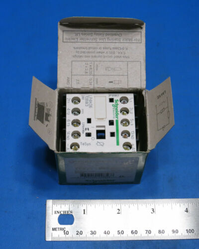 NEW Schneider Electric / Telemecanique TeSys Contactor LP4K0610BW3 - 24VDC 2.2kW