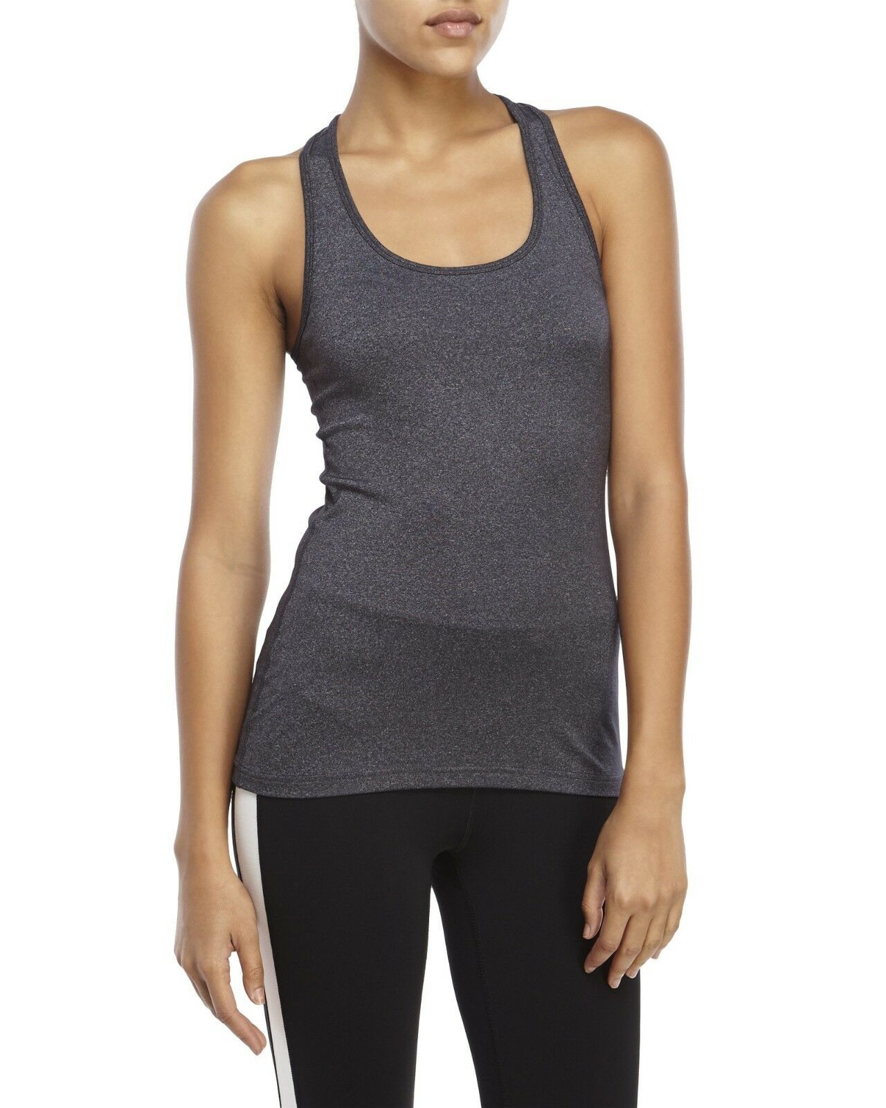 90 DEGREE BY REFLEX Women's Dark Gray Tank Top. Size L. $44.