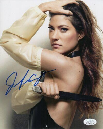 """Jennifer Carpenter Autograph Signed 8x10 Photo - Dexter """"Debra Morgan"""" (JSA COA)"""