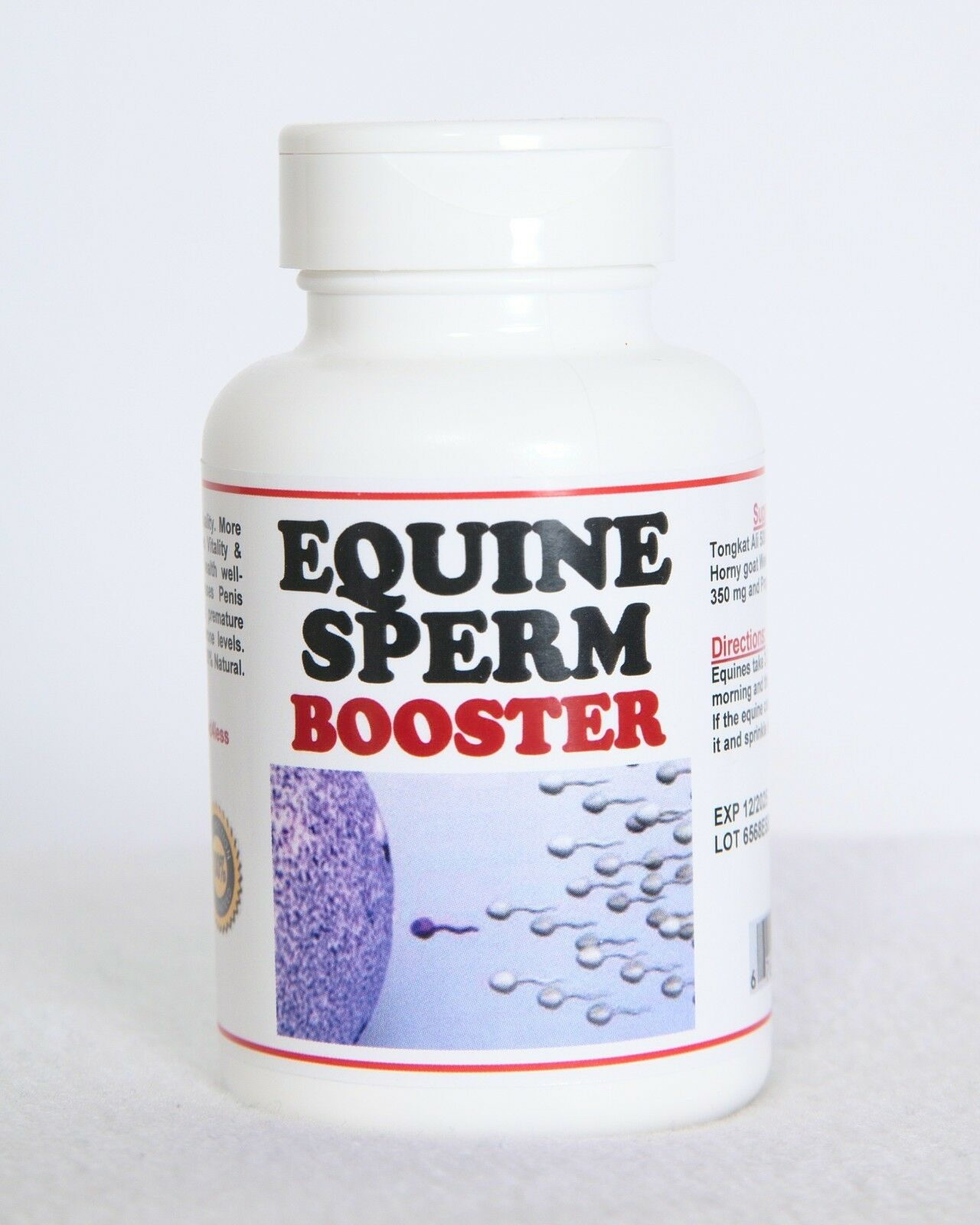 EQUINE SPERM BOOSTER (120 Capsules - Made in USA) BUY CHEAPLY PAY DEARLY