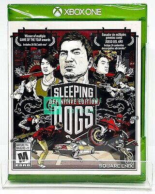 Sleeping Dogs: Definitive Edition - Xbox One - Brand New | Spanish/English