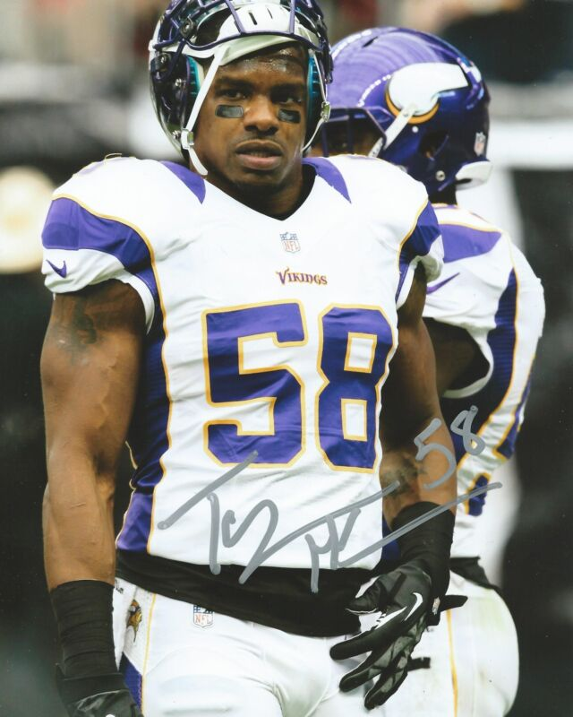 **GFA Minnesota Vikings *TYRONE MCKENZIE* Signed 8x10 Photo T1 COA**