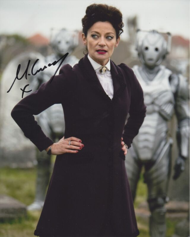 MICHELLE GOMEZ SIGNED DOCTOR WHO 8X10 PHOTO 6