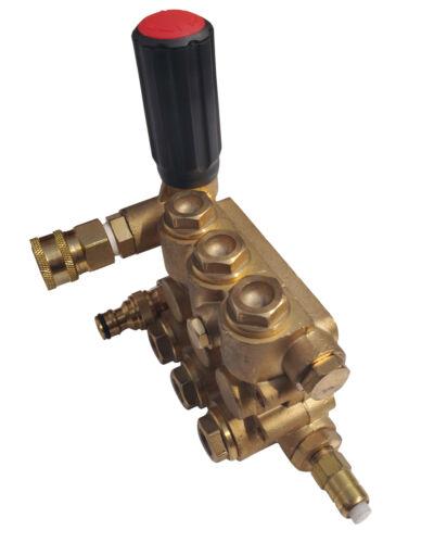 Hochdruckpumpe Pumpenkopf  250 bar Benzin Hochdruckreiniger 13 PS Ersatzpumpe