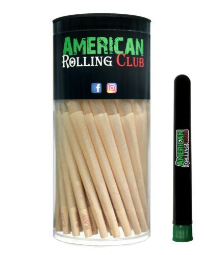 RAW Classic 98 special Size Pre-Rolled Bulk Cones 100 Pack~FREE Doob Tube