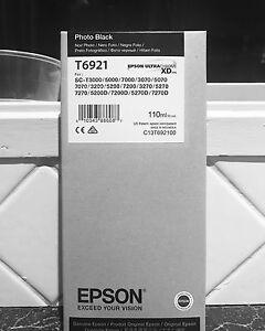 BRAND NEW EPSON ULTRACHROME XD INK T6921 BLACK CHEAP Ringwood Maroondah Area Preview