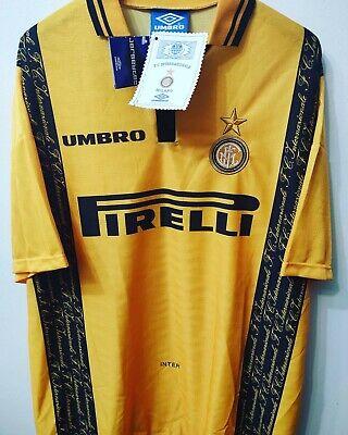 INTER MILAN 1996-1997 BNWT Pirelli camiseta shirt trikot maillot maglia
