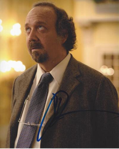 PAUL GIAMATTI SIGNED AUTHENTIC 'AMERICAN SPLENDOR' 8X10 PHOTO COA ACTOR BILLIONS
