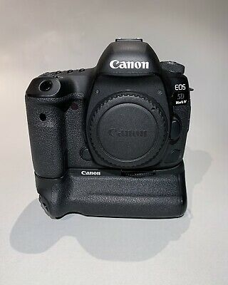 Canon EOS 5D Mark IV w/ BG-E20 Battery Grip – EXCELLENT CONDITION!