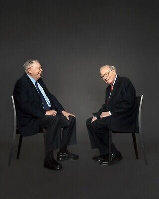 Charlie Mungers & Warren Buffett 8 x 10 / 8X10 GLOSSY Photo Picture](Charlie Warren)