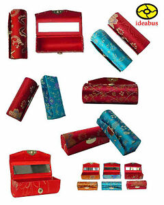 12-Brocade-Lipstick-Cases-Holder-with-mirror-inside-the-lipstick-case-YBS369c02