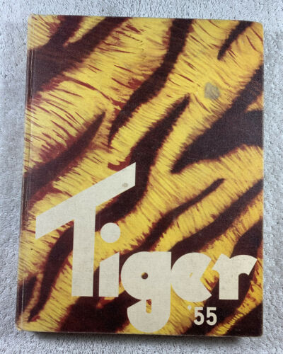 1955 Tiger Yearbook Grand Junction High School Colorado Annual Genealogy History