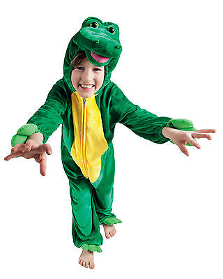 Boys Girls Enormous Crocodile Book Week Peter Pan Costume Fancy Dress Outfit New (Peter Pan Costume For Girls)