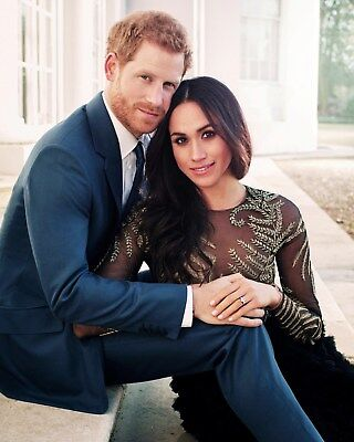Prince Harry   Meghan Markle 8 X 10   8X10 Glossy Photo Picture Image  3