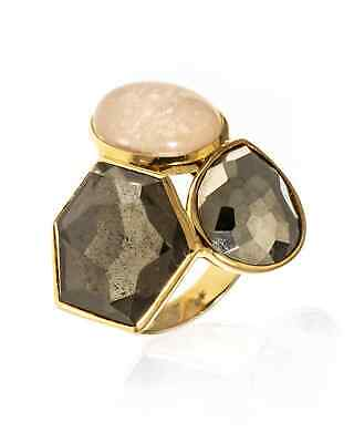 Ippolita Rock Candy 18k Yellow Gold Statement Ring Size 7. GR294CAMP