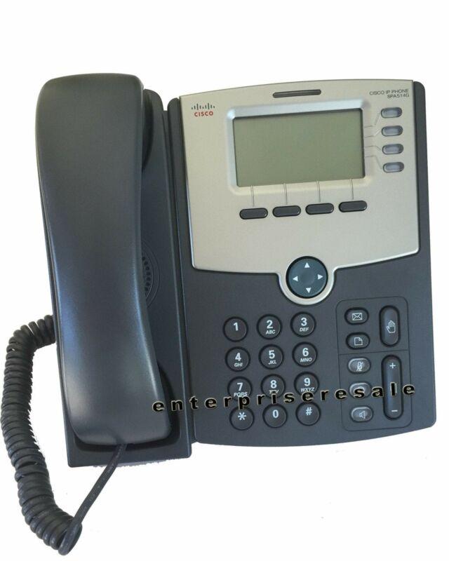 Cisco (SPA514G) IP Phone 2 Port, 4 Line, LCD Display POE Grade C