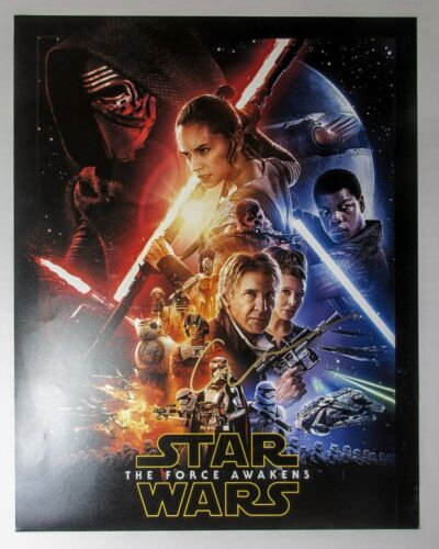 Gwendoline Christie Signed Star Wars Force Awakens 11x14 Poster Photo B PROOF