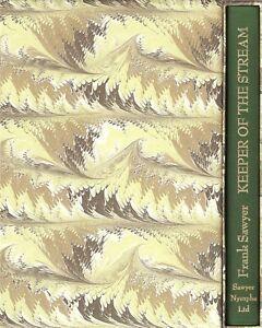SAWYER FRANK FLYFISHING BOOK KEEPER OF THE STREAM TROUT hardback BARGAIN limited