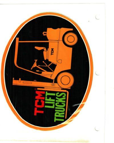 NICE LARGE TCM LIFT TRUCKS EQUIPMENT COAL MINING STICKER # 1040
