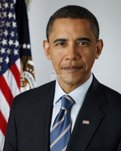 PRESIDENT BARACK OBAMA OFFICIAL PORTRAIT - 8X10 PHOTO (AA-016)