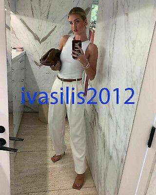 ZARA NEW WOMAN HALTERNECK BODYSUIT WHITE S,M,L 5039/371