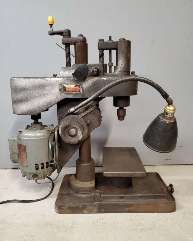 Hamilton VariMatic Drill Press Working Condition