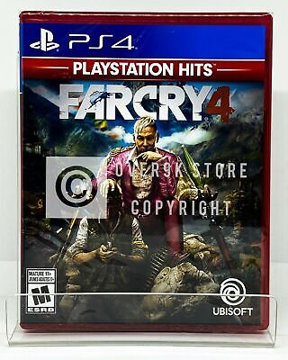Far Cry 4 Playstation Hits - PS4 - Brand New | Factory Sealed