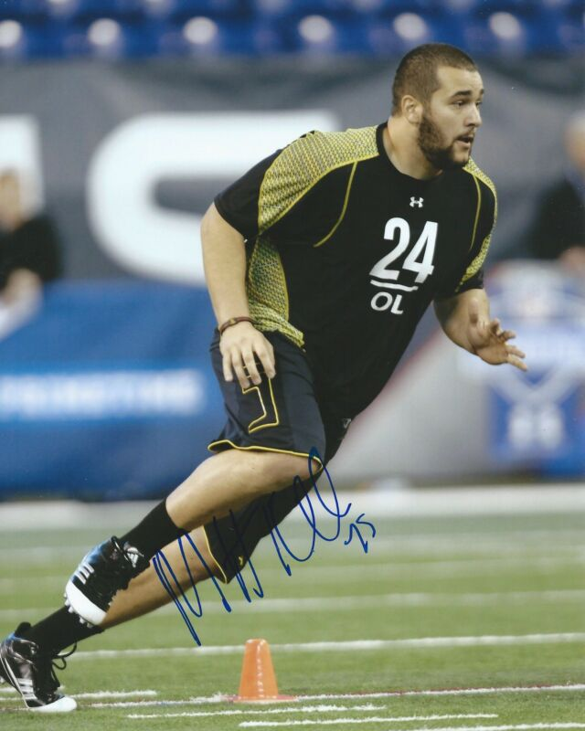 **GFA Minnesota Vikings *MATT KALIL* Signed 8x10 Photo M2 COA**