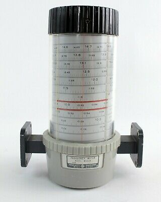 Hp Agilent M532a Frequency Meter - Wr-75 10-15ghz
