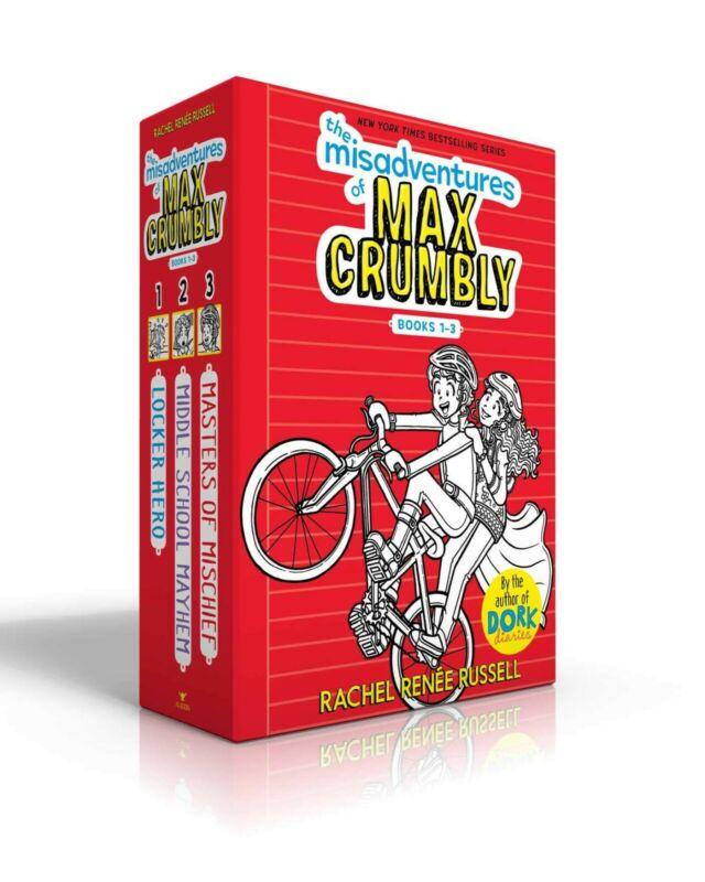 THE MISADVENTURES OF MAX CRUMBLY BOOKS 1-3: Hardback Books Box Set, June 2019