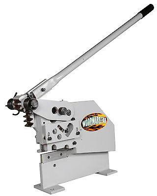 Woodward-fab Manual Iron Worker Wf1w Shear Angle Iron Rod Steel